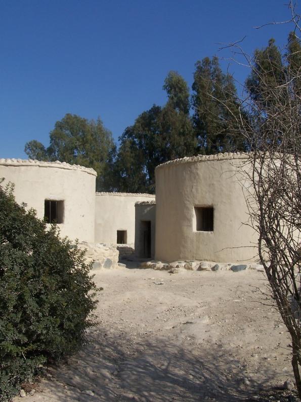 Reconstrucción arqueológica del poblado neolítico de Khirokitia. Photo by el rano verde, Freeware.