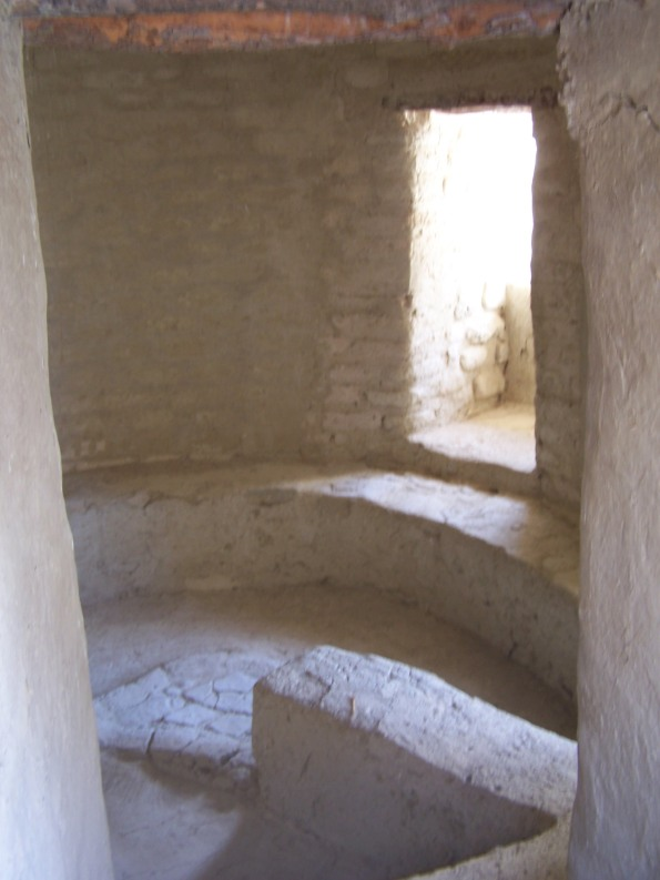 Interior de una de las viviendas. Photo by el rano verde, freeware.