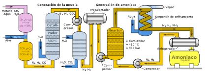 Bonito y sencillo esquema del ciclo del nitrógeno en la naturaleza. Crédito: BioWeb
