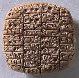 Urushdaur, La posesión de cuerpos Tablilla-sumeria-del-principe-lugalanda-4-370-ybp