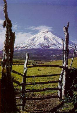 El Cotopaxi, 272 kilómetros cúbicos de montañita