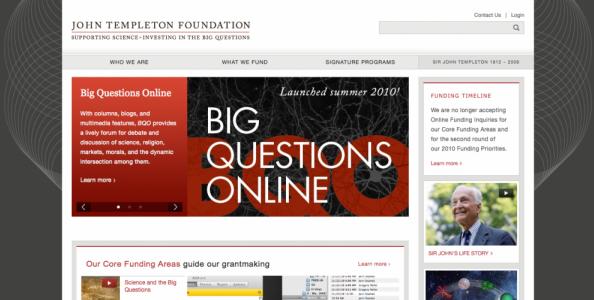 Los grandes interrogantes de la Templeton son fuente de recelo para muchos investigadores