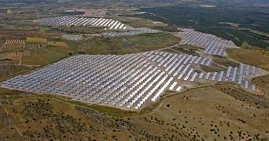 Planta de energía solar fotovoltaica en Alemania