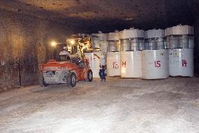 Almacenado de residuos radiactivos en la Waste Isolation Pilot Plant, en Carlsbad (Estados Unidos). Foto: Wikimedia Commons