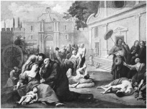 La peste bubónica, una infección producida por la bacteria Yersinia pestis, causó la muerte de cerca de un tercio de la población europea en el siglo XIV