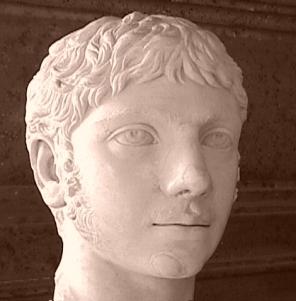 Busto de Heliogábalo, de los Museos Capitolinos
