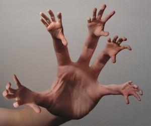 La mano fractal, algo aún más útil.