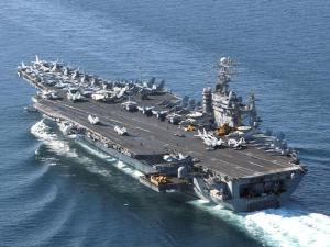 El asteroide USS Theodore Roosevelt