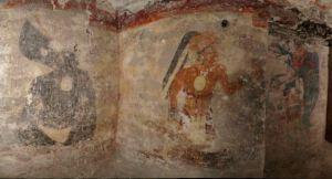 Algunas de las pinturas de Xultún (Guatemala)