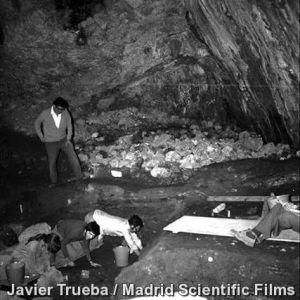 Sima de los Huesos. Sierra de Atapuerca (Burgos)