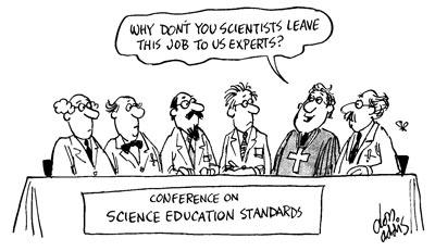 Científicos, ¿por qué no dejáis este trabajo a nosotros, los expertos?