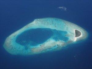 Atolón de Male Norte, Maldivas.