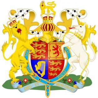 heraldica escudo imperio britanico
