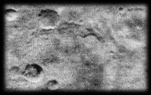 Imagen de Marte tomada por la sonda Mariner 4, a unos 10.000 kilómetros de distancia, en julio de 1965