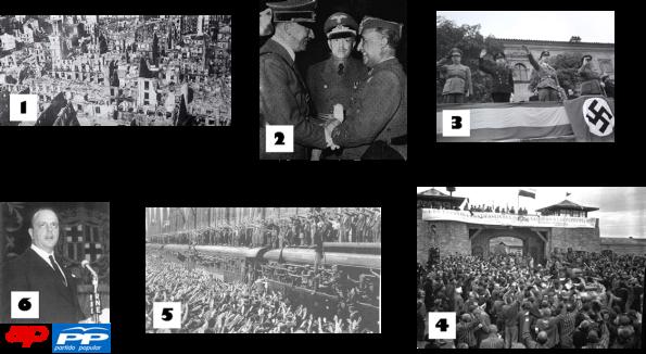 ¿Quién apoyó a los nazis en España?