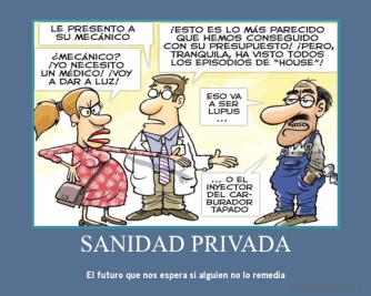 sanidad publica SANIDAD PRIVADA privatizacion recorte