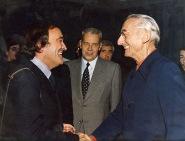 Félix Rodríguez de la Fuente y Jacques Custeau.