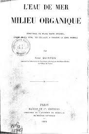 Publicación original de Quinton en 1904 (pulsad sobre la imagen para acceder al PDF)