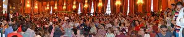 Presentación de la Presentación de la Primera Carta por Ciencia en el salón de actos del CSIC