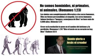 Dando gloria a Jesús el creador evangelicos evolucion darwin creacionismo