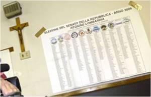 elecciones votacion democracia crucifijo neutralidad religiosa