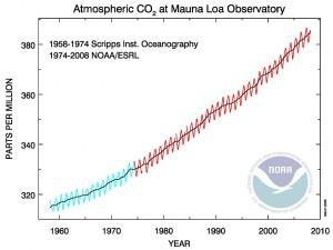 1 niveles co2 hawai efecto invernadero cambio climático