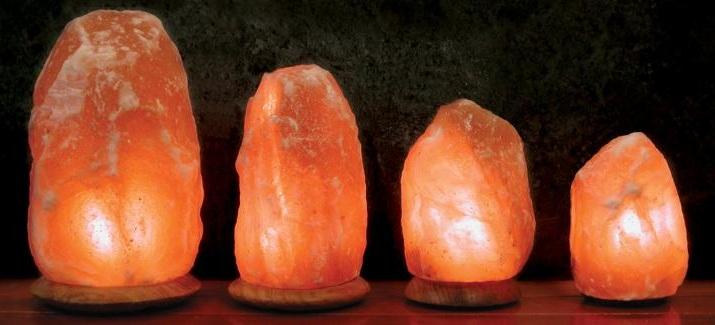 Las sorprendentes propiedades curativas de la sal del - Lamparas de sal precios ...