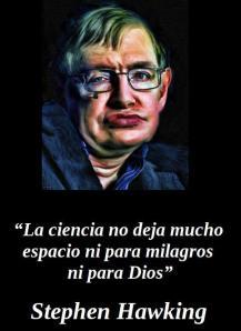 stephen hawking ateismo frases celebres ateas dios religion cristianismo jesus ciencia