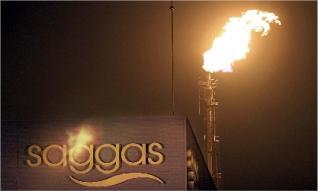 saggas sagunto gas quema antorcha derroche