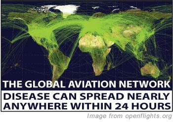 red mundial aerea