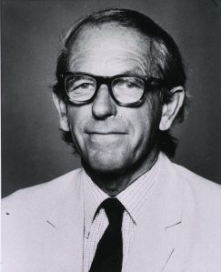 Fred Sanger. Fuente: Wikipedia