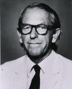Fred Sanger. Fuente: Wikipedia