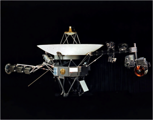 Voyager 1. Imagen tomada de Wikipedia