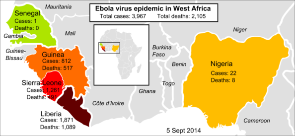 2014_Ebola_virus_epidemic_in_West_Africa mapa 5 septiembre