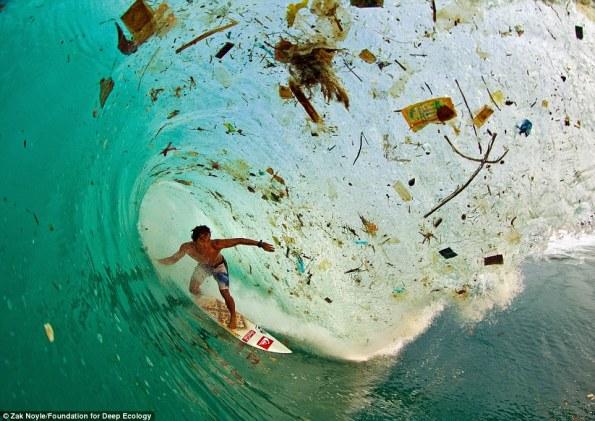 1 surf entre basura en Java