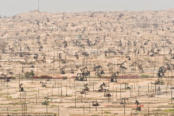 3 yacimiento de petróleo en Kern River