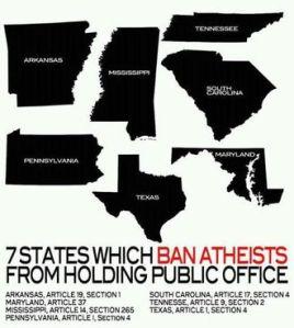 atheist ban  USS