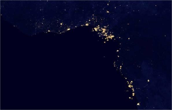 quema gas natural antorcha golfo guinea
