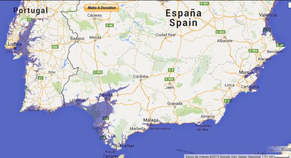 peninsula iberica
