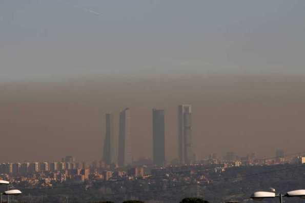boina contaminacion madrid atmosferica
