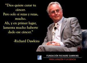 richard dawkins dios ciencia cancer misericordia rezar diario de un ateo
