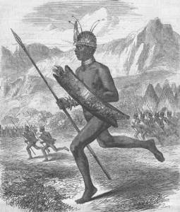 Commoro, Chief of The Latooka Tribe
