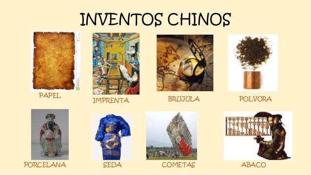 5 inventos chinos